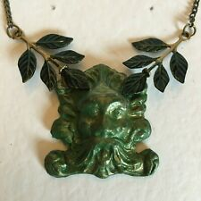 Green Man Necklace in Pagan & Symbolic Jewellery for sale | eBay