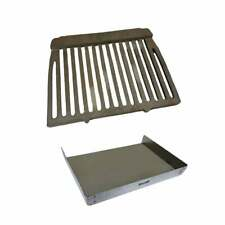 "Dunsley Enterprise Fire Grate and Ashpan Set for 16"" and 18"" Open Fireplaces"