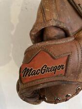 "New listing Vintage MACGREGOR MSB Pro Model Natural Pocket Right Handed 12.5"" Softball Glove"