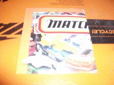 Matchbox 1997 Poster Collectors Book Vintage Promo Brochure Catalog