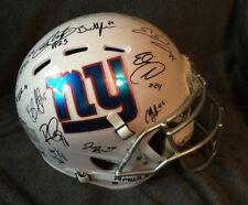 NEW YORK GIANTS team SIGNED autographed FULL SIZE AUTHENTIC Football helmet