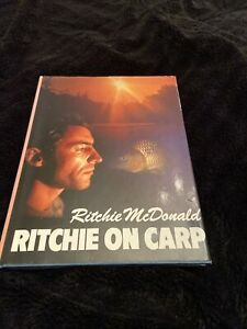 """""""Ritchie On Carp"""" by Richie McDonald – Sought After First Edition 1989 VGC"""