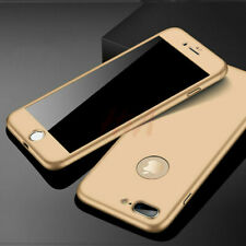 For iPhone 11 Pro XS Max XR 360 Full Body Shockproof PC Case + Screen Protector