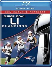 NFL Super Bowl (51)LI Champions(New England Patriots)(Blu-ray)(Region Free) 2017