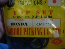 Honda C 201 CD 90  Top End Gasket Set # 13503 from N.P Made in Japan N.O.S