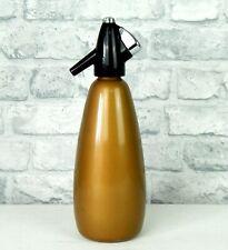 More details for vintage retro boc soda siphon gold 1960s 1970s sparklets #c