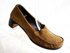 5f56845cc21 Cole Haan🔥Womens Size 7 B Loafers Brown Leather moccasin Crafted in Italy  Shoes