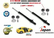 FOR MAZDA RX8 1.3 2003-2012 2X REAR LEFT RIGHT SHOCK ABSORBER SET + MOUNTING KIT