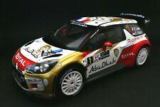 Citroen DS3 WRC 1:18 Rally Argentine Product License Citroen  - Die cast metal