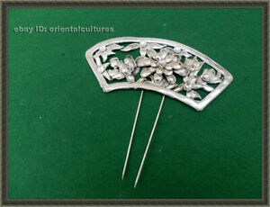 Traditional Classic Hair Accessories tribal handmade miao silver hairpin 1piece