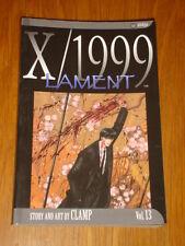 X/1999 LAMENT VOL 13 SHOJO EDITION MANGA CLAMP VIZ GRAPHIC NOVEL