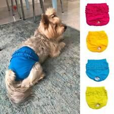 Cotton Dog Brief Sanitary Pants Female Dog Panty In Season Pet Cat Dog Underwear