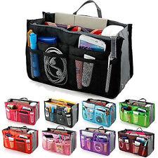Handtasche Organizer Multifunktion Reise Make Up Kosmetiktasche Kulturbeutel DE