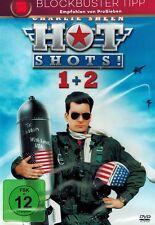 DOPPEL-DVD NEU/OVP - Hot Shots 1 + 2 - Charlie Sheen