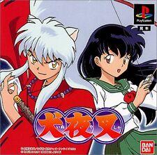 PS1 Inuyasha Inu yasha Japan PS PlayStation 1 F/S