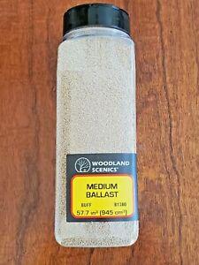 Woodland Scenics Medium Ballast - Buff - B1380