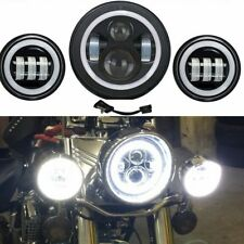 "For Yamaha Royal Star Venture XVZ1300 7"" LED Daymaker Headlight Passing Lights"