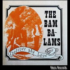 """THE BAM BA-LAMS Deliver My Love. Picture Cover 7"""" Single RARE Near Mint"""