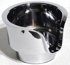 cup holder center chrome plastic for Peterbilt 2000-2005 Kenworth 2002-2010