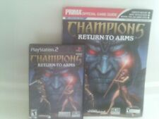 Champions: Return to Arms (Sony PlayStation 2, 2005)complete- Free Shipping!