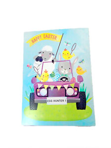 Easter Card Egg Hunt Animals CRUISING WITH FUN American Greeting