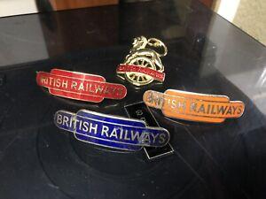 british railway cap badges