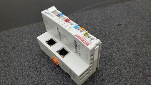 BECKHOFF EK1100 EtherCAT Coupler 24 V DC DIN Rail Mount