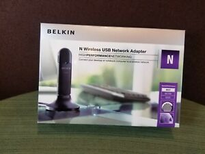 Belkin N Wireless USB Network Adapter F5D8053