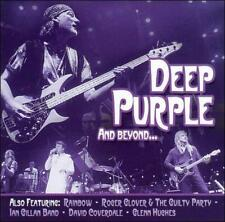 DEEP PURPLE AND BEYOND BY DEEP PURPLE (CD, 2006, Direct Source)