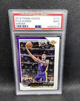 Kyle Kuzma PSA 9 NBA Hoops Winter #175 MINT Los Angeles Lakers