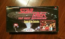 Star Trek The Next Generation GAME OF THE GALAXIES Board Game 1993 Complete Box