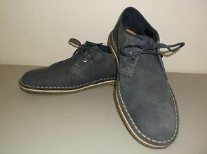 Clarks Originals Desert London Men's Shoes Size 8M Charcoal Gray Suede Upper