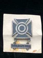 WWII US ARMY Rifle Sharpshooter Medal US Military Badge Pin w/ card