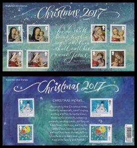 2017 GB Christmas Royal Mail Presentation Pack No.548