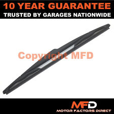 "OPEL CORSA MK3 D 2006 ON 12"" 300MM REAR BACK WINDOW WINDSCREEN WIPER BLADE"