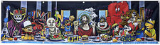 World Industries Skateboard Banner Cliche Last Supper Flag Tapestry Poster 2x8ft