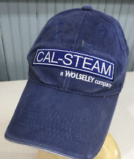Cal-Steam Plumbing Beat Up Dirty Distressed Adjustable Baseball Cap Hat