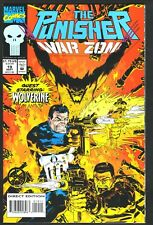 """The Punisher: War Zone #19--""""The Jericho Syndrome""""--1993 Comic Book--Wolverine"""