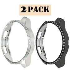 2PC Bling Bumper Case For Samsung Galaxy Watch 42mm 46mm Watch Frame Cover Shell
