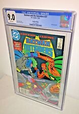 Batman and the Outsiders #27, CGC 9.0, White Pages