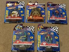 Space Ghost Coast To Coast Cartoon Network Set Of 5 Figures - Including Clear