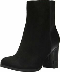 Dr. Scholl's Womens Darcia - Original Collection, Black Suede/Leather, Size 9.0