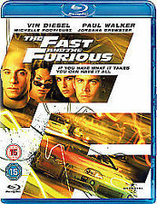The Fast & The Furious [Blu-ray][Region Free], DVD | 5050582614398 | New