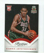 2013-14 Panini Prestige Giannis Antetokounmpo Rookie Card #175 Milwaukee Buck