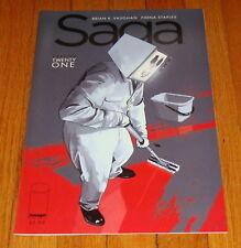 Saga #21 1st Print Brian K Vaughan Fiona Staples Image Comics