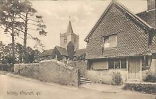 UK Surrey Witley church 1910s PC