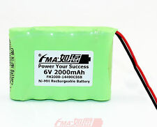 2Pcs Ni-MH AA 6V 2000mAH Rechargeable Battery Replace for BA225030 cell US