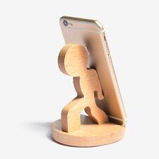 Handyhalter Tischhalter Echtholz Smartphone Tablet Halter Halterung Ständer Boy
