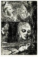 DDR-Kunst, 1984. Radierung Claus WEIDENSDORFER (1931-2020) handsigniert, 2/10