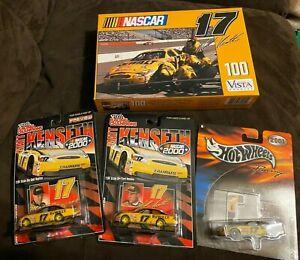 Matt Kenseth Lot - 3- 1/64th Dewalt Cars, 1 Puzzle